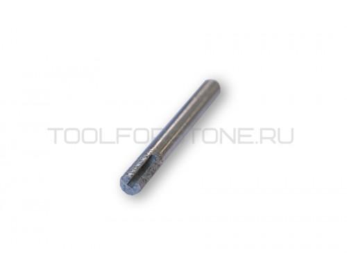 Фреза малая алмазная  вакуумное спекание (цилиндр)  FPС 8-15